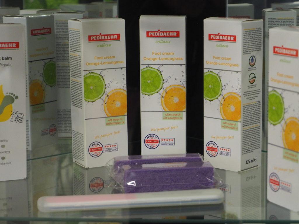 PEDIBAEHR-Produkte